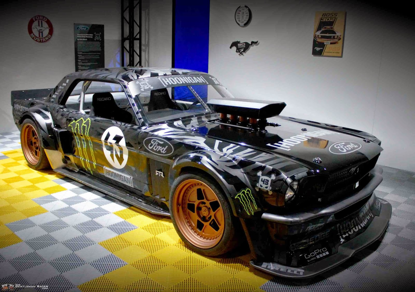 sema ken block 39 s hoonicorn mustang. Black Bedroom Furniture Sets. Home Design Ideas