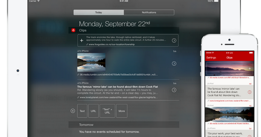Clips 最強 iPhone iPad 剪貼簿誕生!高效率文書必備