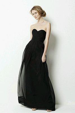 Vestidos largos de fiesta de color negro