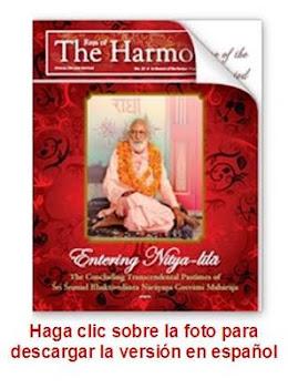 """Entrando en Nitya-lila"""" Descargue la edición especial de la revista en nuestro idioma"""