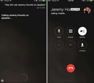 Update iOS 8.3 Mungkinkan Buat Panggilan 'Hey Siri' Via Speakerphone