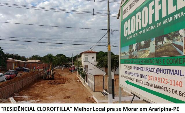 Residencial Cloroffila Melhor Lugar Pra Morar Em Araripina