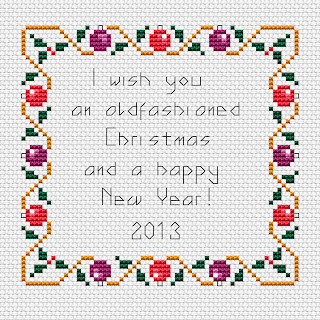 Christmas Border Free Cross Stitch Patterns