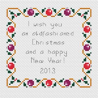 Christmas Border Free Cross Stitch Patterns