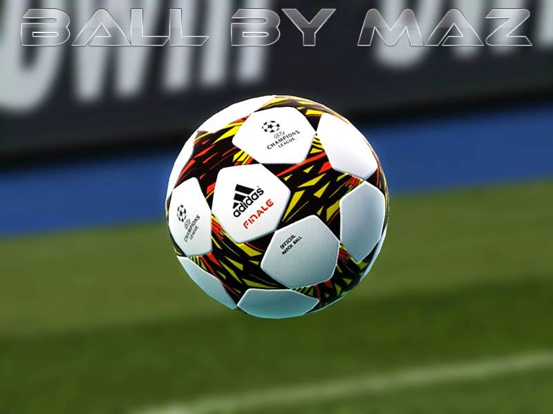 PES 2013 Adidas UEFA Champions League Final 2014 -15 Ball by MAZ