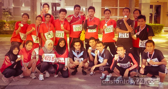 Putrajaya, larian ekiden, cheras, international youth centre