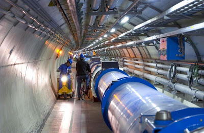 Large Hadron Collider photo issued by CERN [Image credit: CERN)