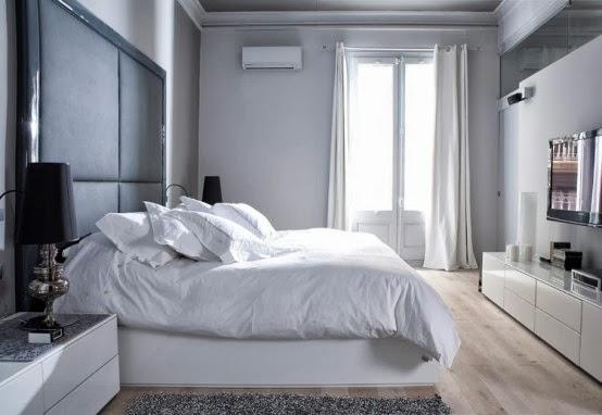 Czarno Biały Elegancki Apartament / Black And White Elegant Apartment