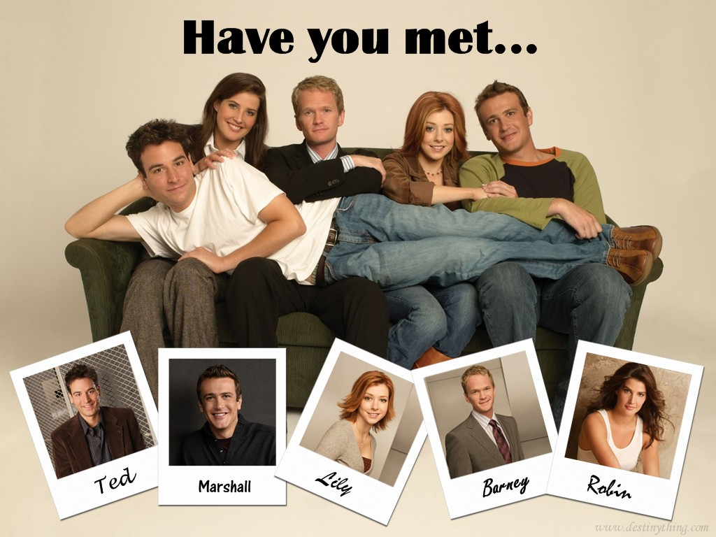"""Ranjith Kamath's Thoughts: HIMYM """"How I Meet Your Mother ..."""
