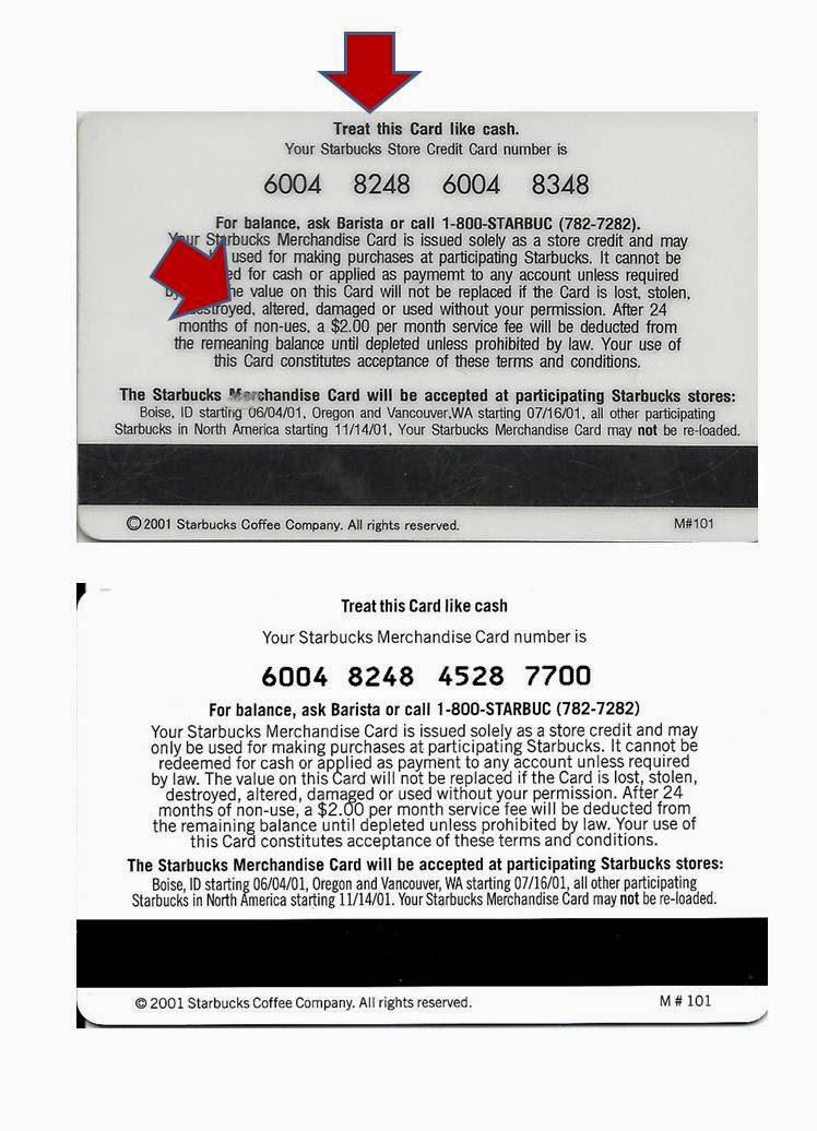 fake gift cards