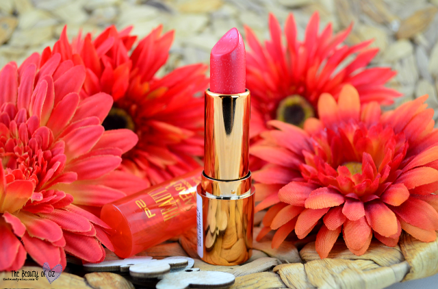 Review p2 Beauty Goes Safari Sunlight Lipstick