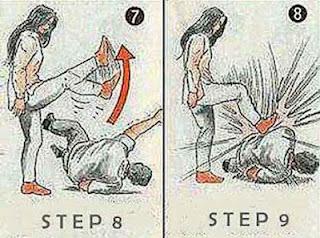 8 Teknik Dasar Pertahanan Diri Bagi Wanita