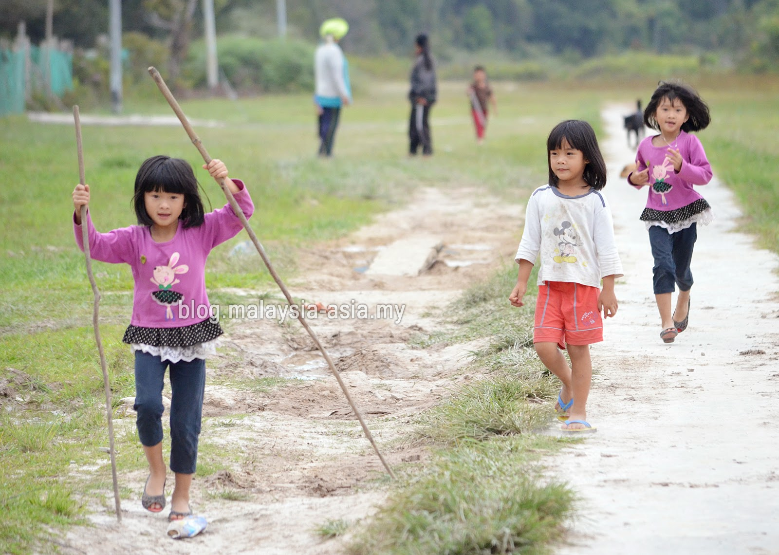 Kids in Bario