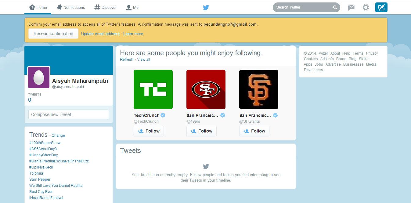Cara Membuat Twitter 7