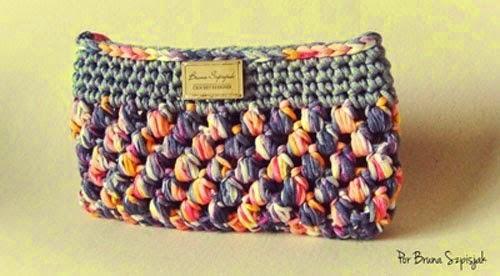 patrones de monedero tejido con totora
