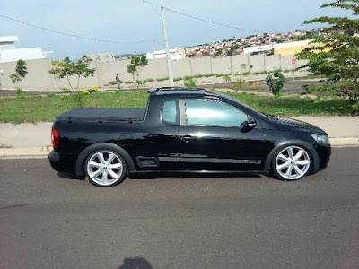 Saveiro Trooper Rebaixada R18""