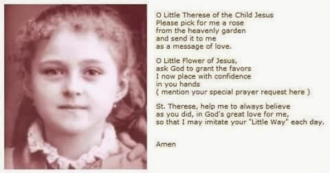 St therese novena miracles