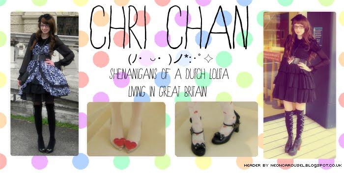 (ノ・◡・)ノ*:・゚✧ Chri chan