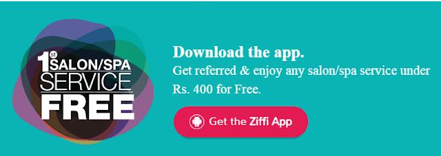 Ziffi App Free Spa Salon Service