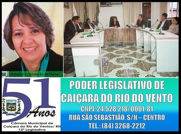 PODER LEGISLATIVO DE CAIÇARA DO RIO DO VENTO RN