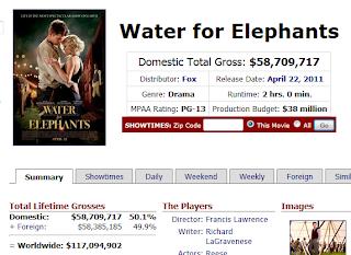 WATER FOR ELEPHANTS (Agua para elefantes) - Página 3 Captura