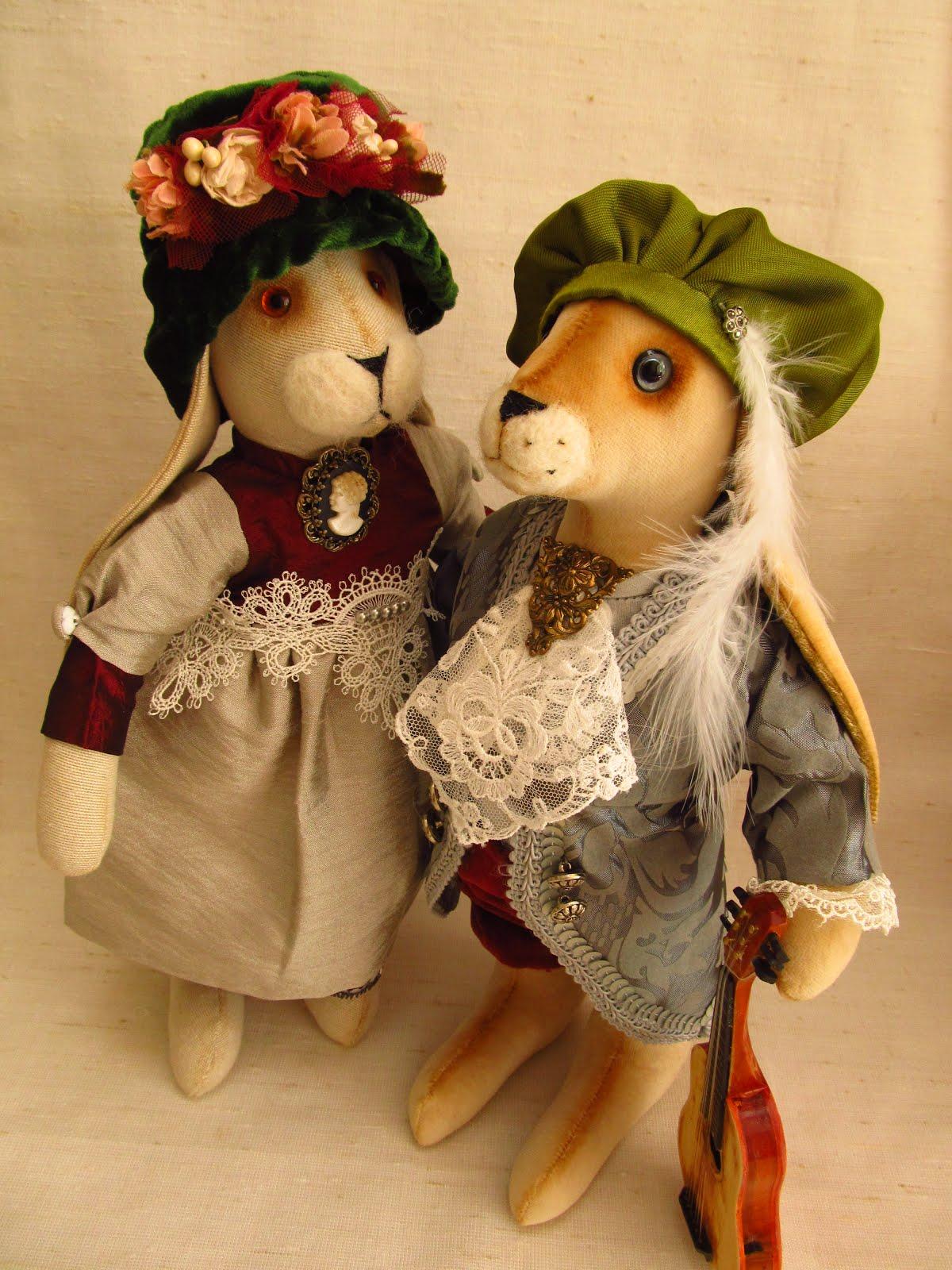 Оливия и Антонио.