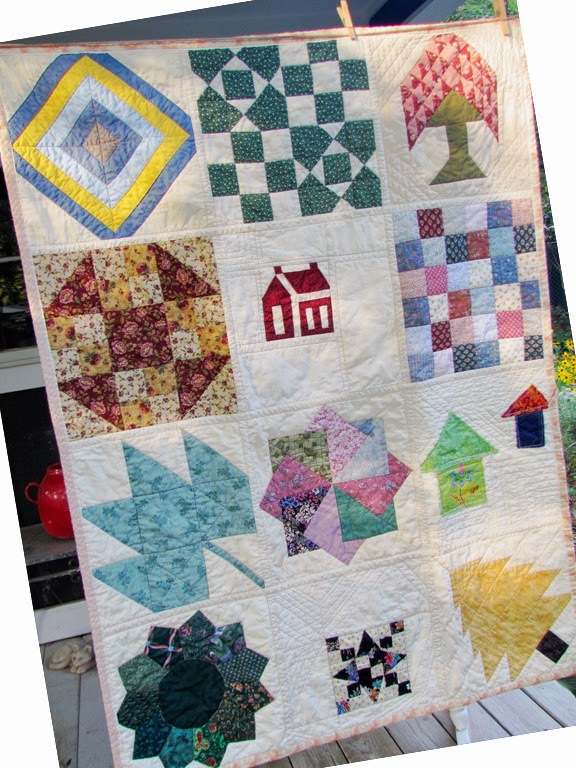 quilt as you go sampler for community service