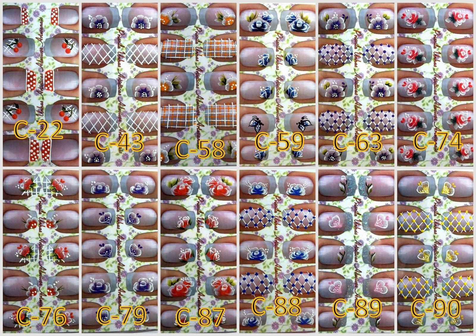 Priscila unhas artsticas como comecei a fazer adesivos artesanais agora estou trabalhando com cartes feito na grfica ele tem uma pelcula por cima e vem com as unhas desenhadas pra facilitar a visualizao dos adesivos altavistaventures Gallery