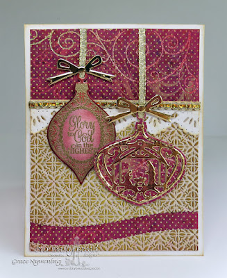 ODBD stamps: Elegant Embellishments, Elegant Embellishments dies, Delightful Decorations Dies, designed by Grace Nywening