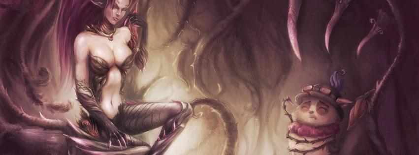 Zyra League of Legends FAcebook Cover Photos