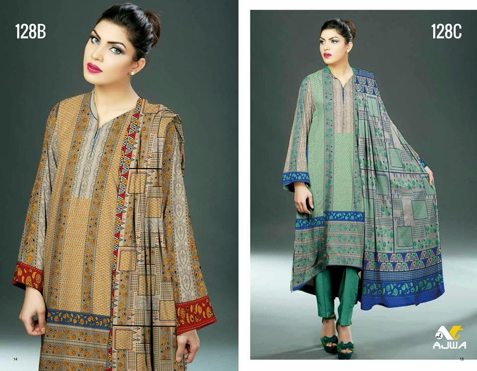 Ajwa summer collection dresses