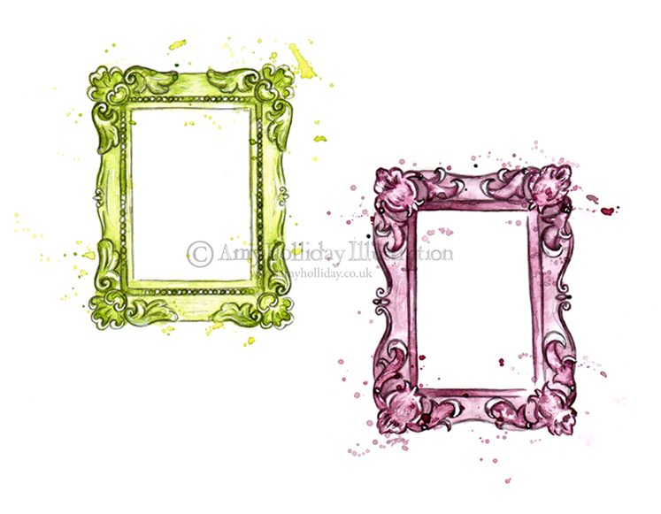 Home And Garden Picture Frames : Amy holliday illustration better homes and gardens