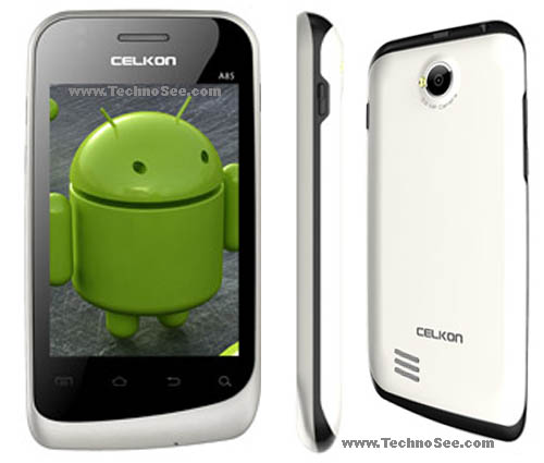 Celkon A85 phone full specification | Dual SIM Android with 1GHz