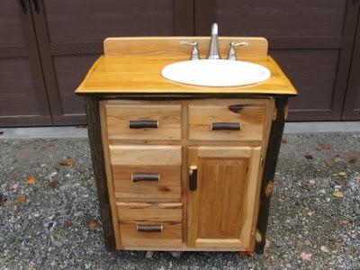 Muebles de ba o r sticos ba os y muebles - Muebles de banos rusticos ...