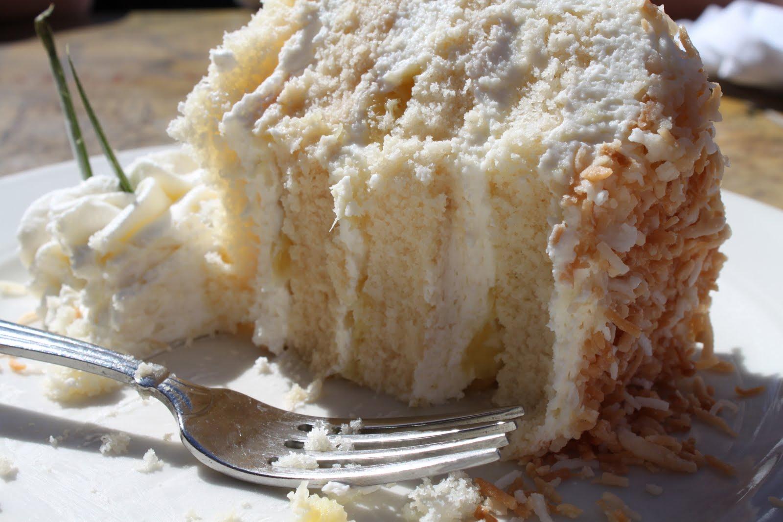 Coconut Pineapple Layer Cake