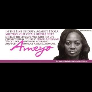 Dr Ameyo Adadevyoh