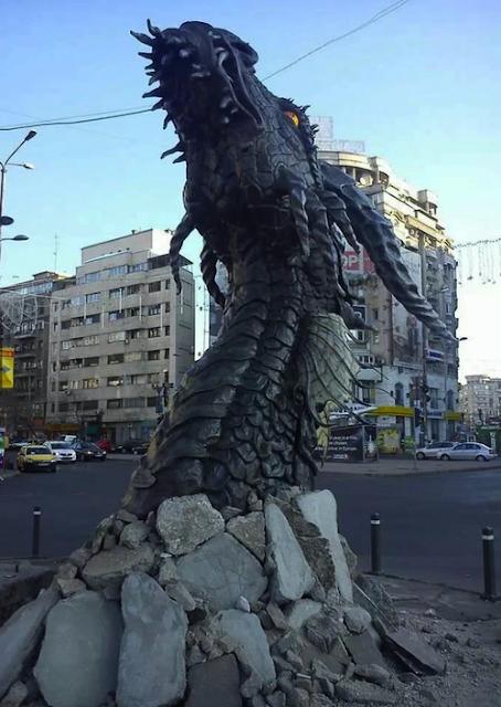 Promoción de El Hobbit en Rumanía