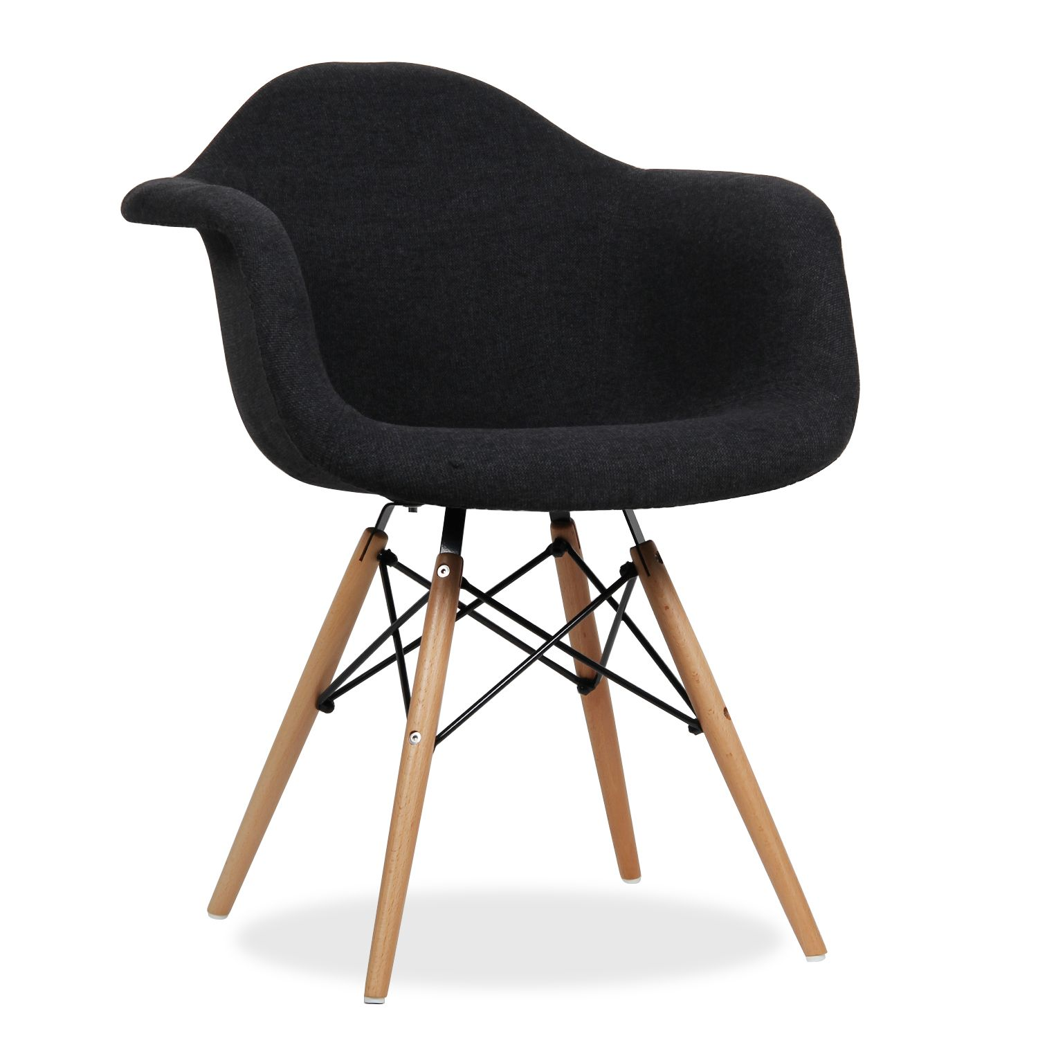Upholstered desk chair with