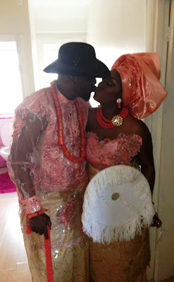 Lovely Photos From The Wedding of Wande Coal's Manager, Nana Abbey