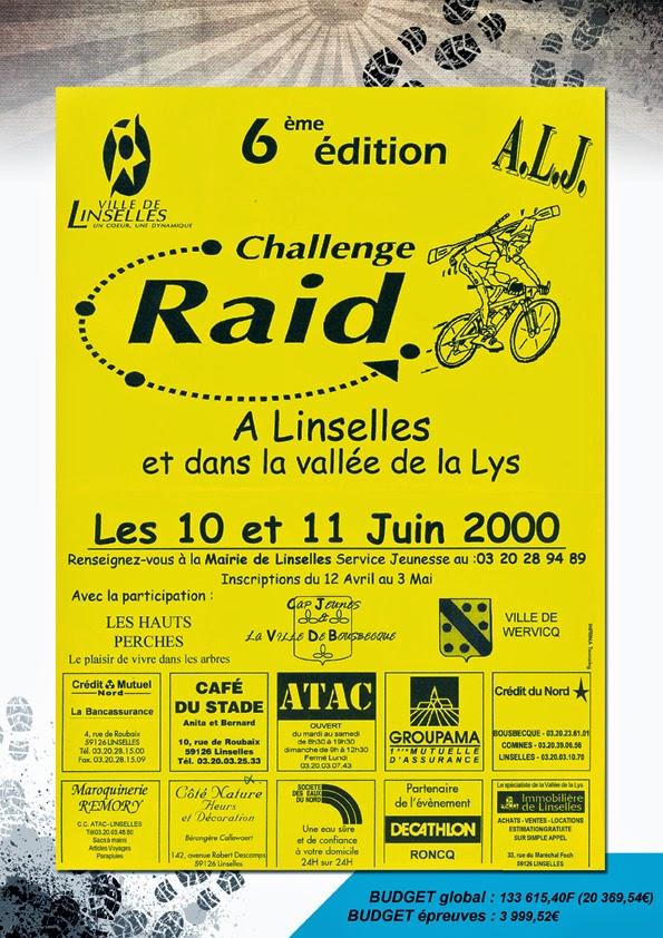 challenge raid vallee de la lys r trospective 2000 et 1999. Black Bedroom Furniture Sets. Home Design Ideas