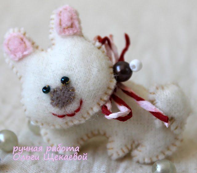 заяц, кролик,  китайский гороскоп, ёлочная игрушка