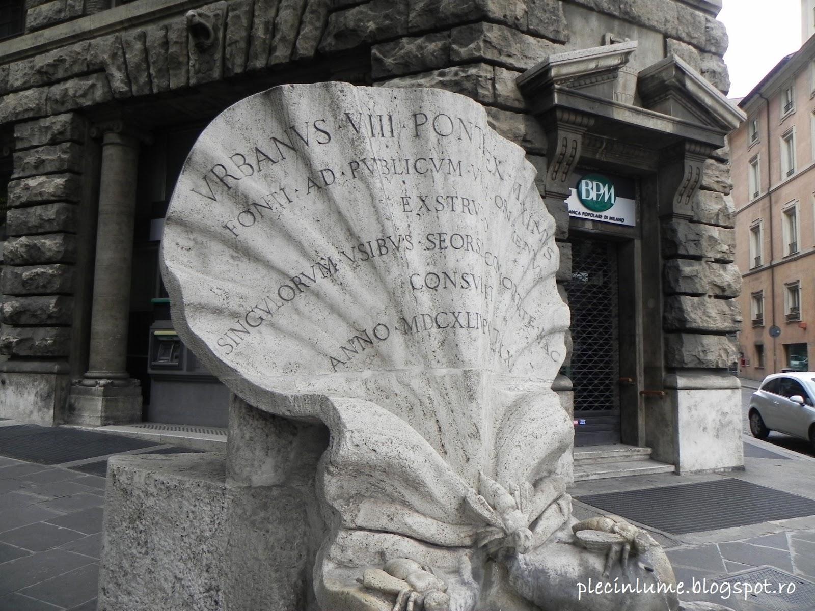 La colt de strada in Roma