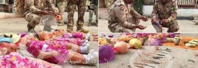 buongiornolink - L'ultimo orrore dell'Isis bambole-bomba per uccidere in Iraq durante la festività dell'Arbaeen