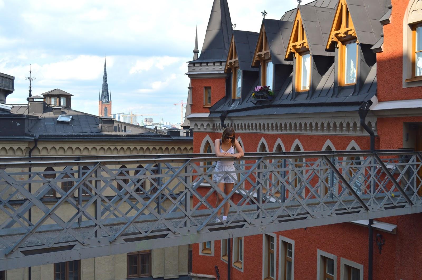 Buildings in Sodermalm, Stockholm