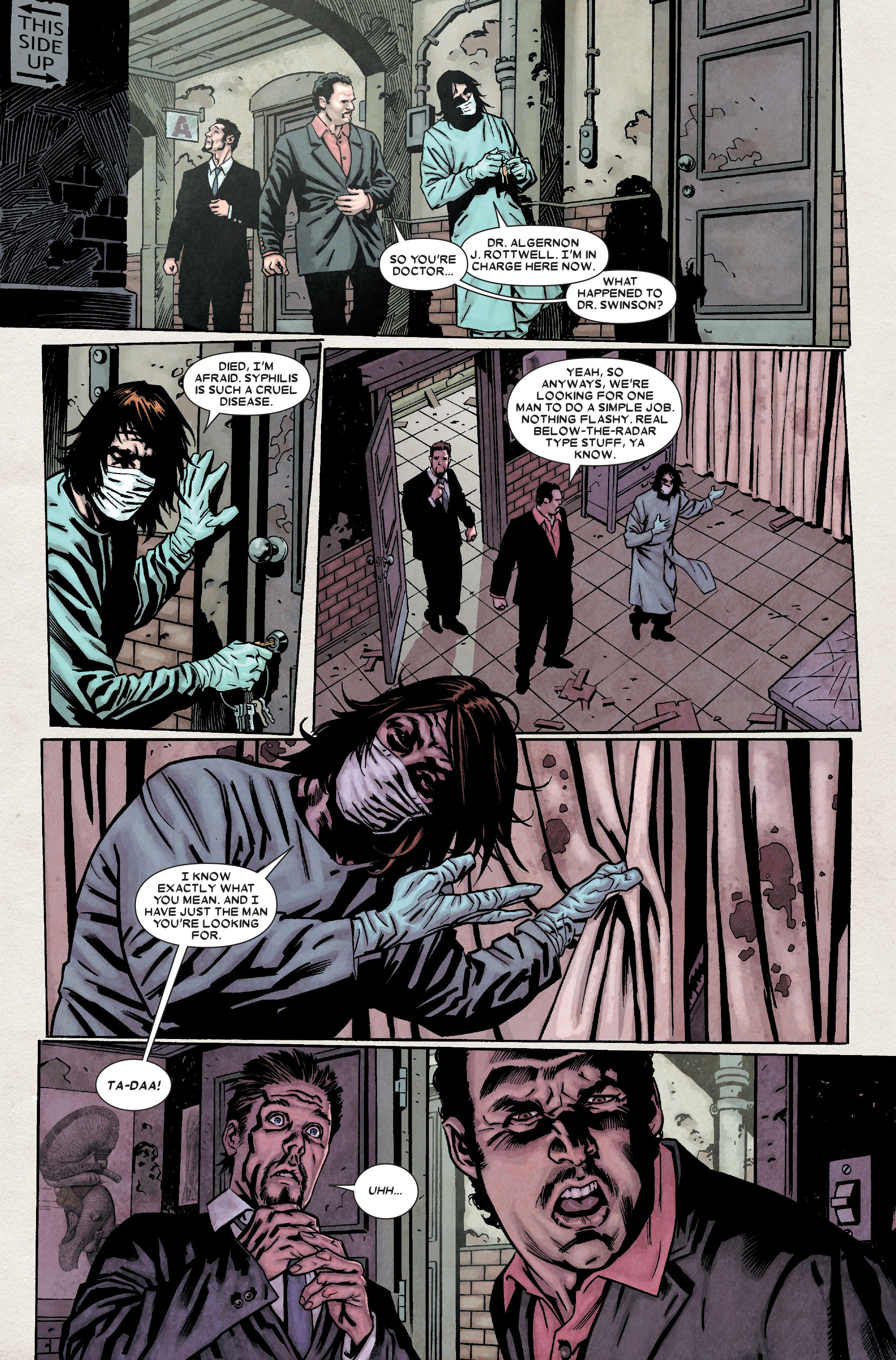 Wolverine: Weapon X #7 #10 - English 12