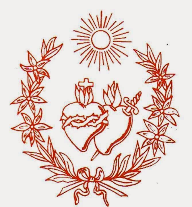 Corações de Maria e Jesus