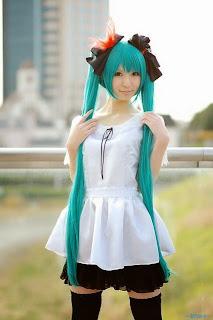 Vocaloid Hatsune Miku World is Mine cosplay by Rinami