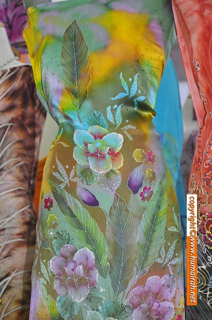 Bunga Lalang, Ombak Rindu Abstrak Exclusive - BATIK SUTERA 9