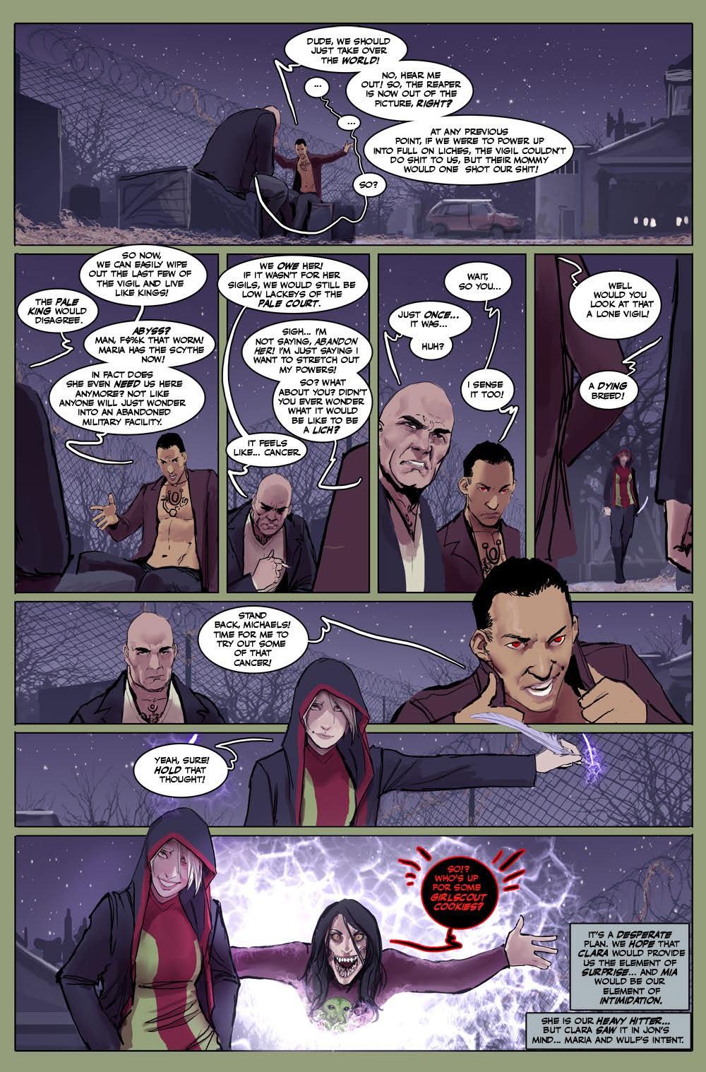 Death Vigil Issue #8 #8 - English 2