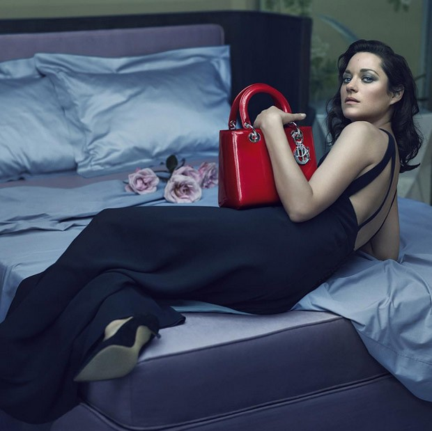 Lady Dior Fall/Winter 2015 Campaign featuring Marion Cotillard